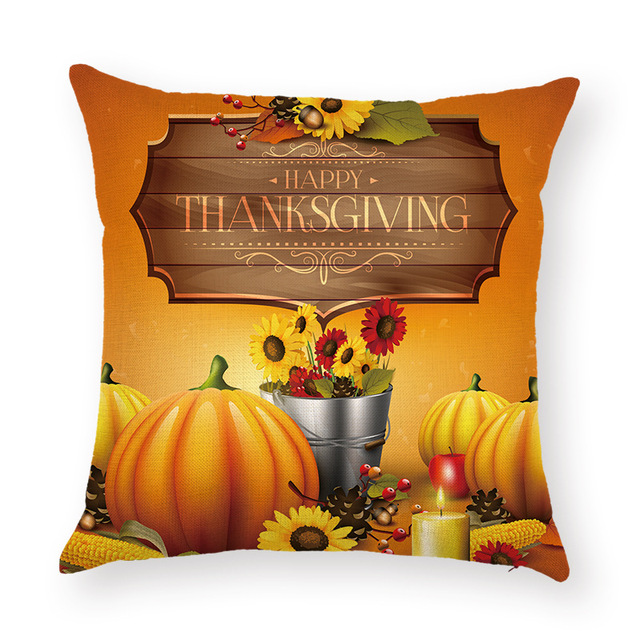 thanksgiving office decorations. happy thanksgiving halloween decorations cushion cover pumpkin witch bat pillow cases chair office car sofa home
