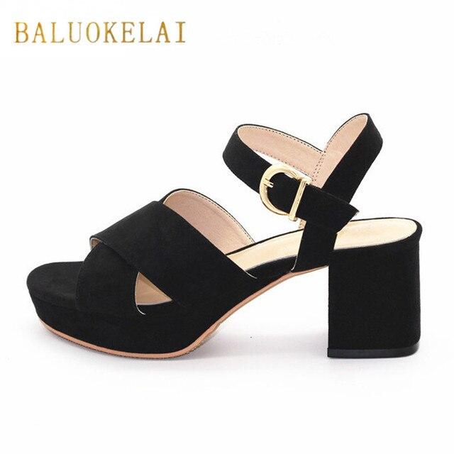 zwarte hak sandalen
