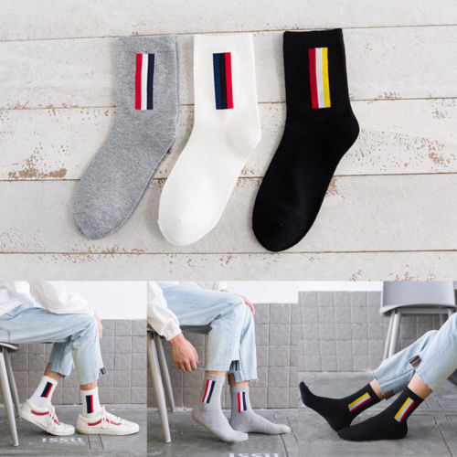 Hirigin 2017 1 Pairs Mens Cotton Socks Warm Multi-Color Fashion Socks Men Funny Socks 100% Cotton Men Weed Socks Free Shipping