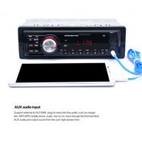 Auto Radio mp3 Player Car MP3 Player Card Slot Type Auto Car Stereo Audio In Dash Radio Aux Input Receiver Vehicle Radio Player