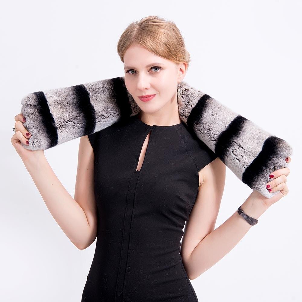 chinchilla fur scarf 1