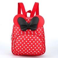 2017 New Fashion Women Backpacks Children Bags For Girl Cute Butterfly School Backpack Kindergarten Backpack Student