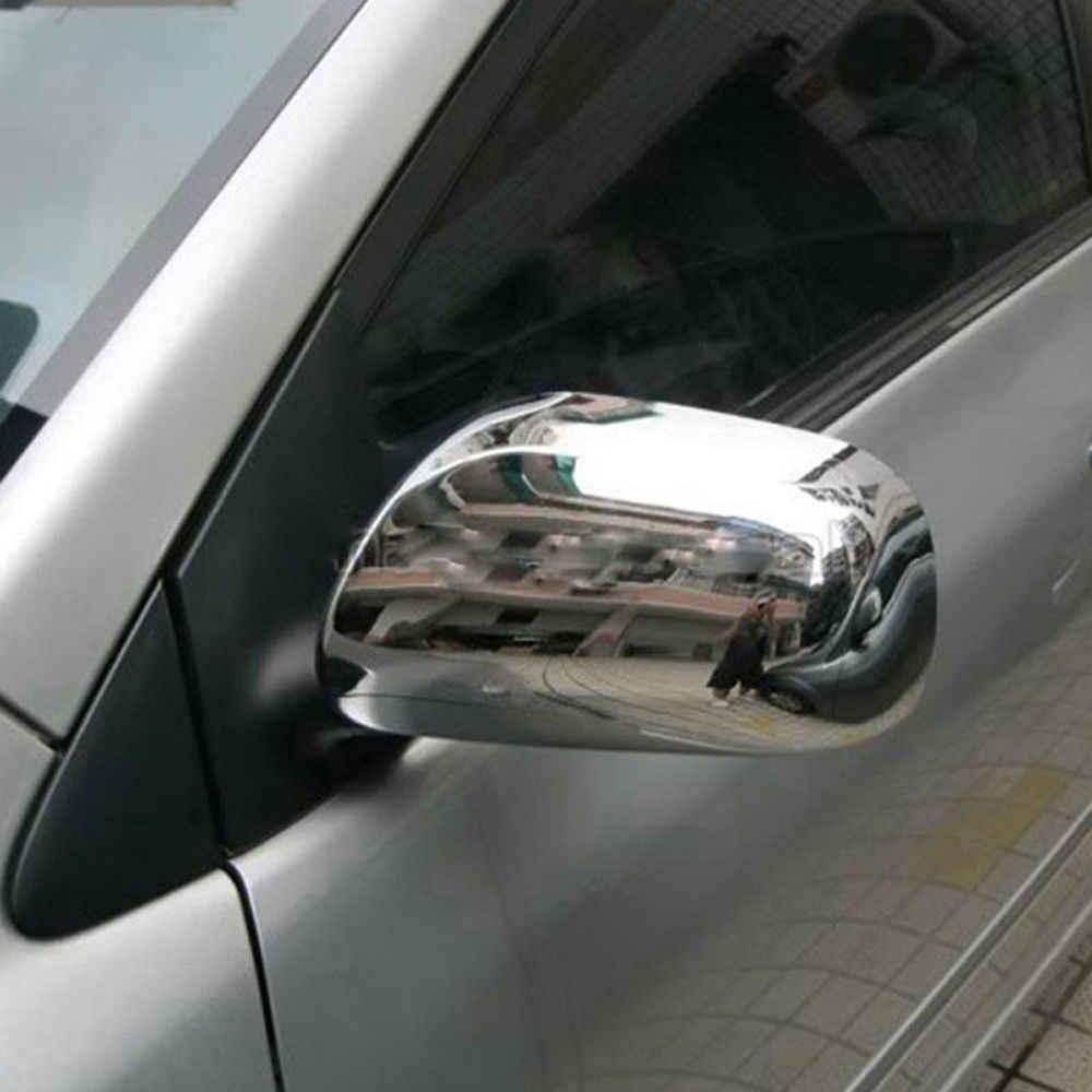 トヨタカローラ 2005-2006Year 2003-2008 願いプリウス 2005 ヤリスクローム ABS 側ドアリアビューミラーミラーカバートリム