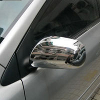 For Toyota Corolla E150 Matrix Prius AM 2009 2011 Yaris 2005 Chrome ABS Side Door Rear View Mirrors Covers Trim