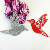 Metal cute fly hollow bird Cutting Dies Stencils for DIY Scrapbooking photo album Decorative Embossing DIY Paper Cards