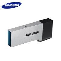 삼성 USB 플래시 드라이브 USB3.0 32 기가바이트 pendrive 금속 메모리 미니 usb otg 기억력 스틱 64 기가바이트 128 기가바이트 u 디스크 usb 안드로이드