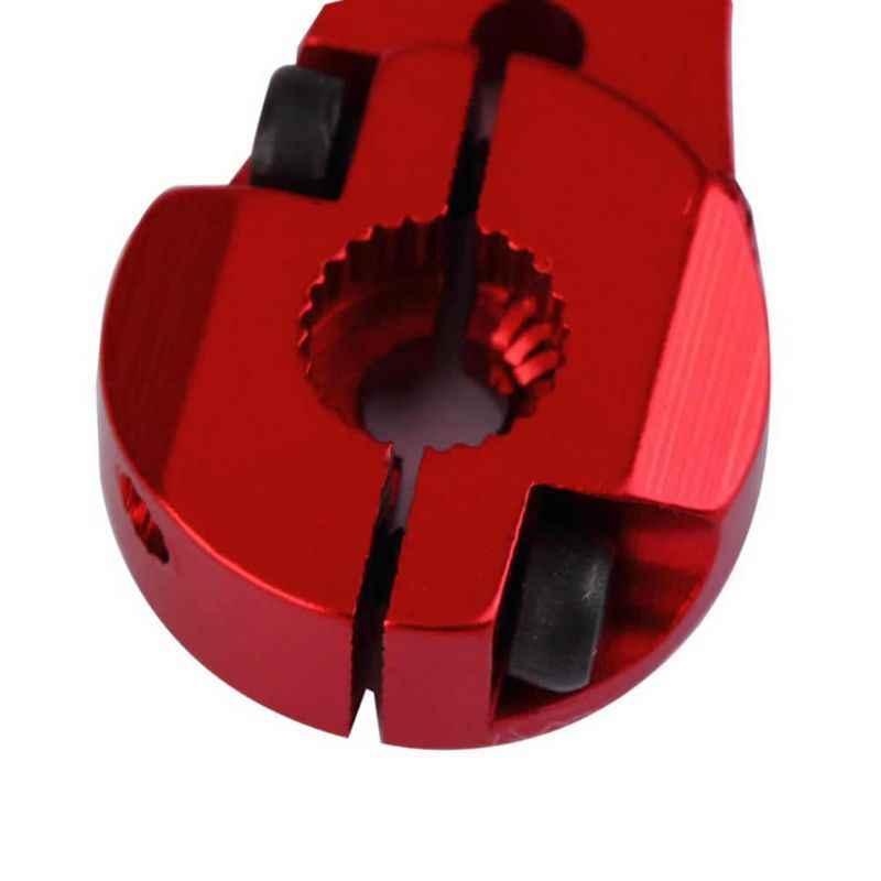 חם CNC אלומיניום צופר סרוו Arm 25T הסטנדרטי Futaba Servos 25T אדום