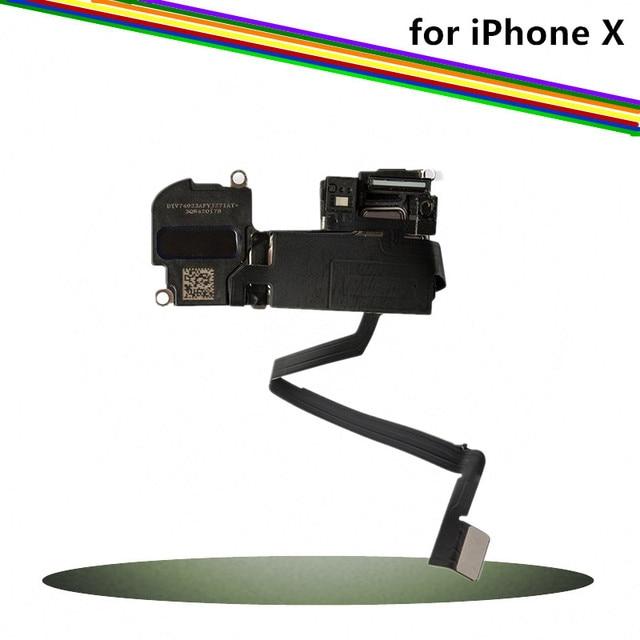 Replacement Original Parts for iPhone X Ear Speaker & Earpiece with Sensor Flex Cable