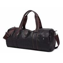 Для мужчин Дорожная сумка моды большой емкости плеча сумочку дизайнер мужской сумка Высокое качество Повседневное Crossbody дорожные сумки