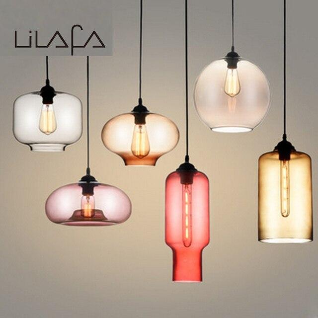 Fonkelnieuw Milti kleuren Creactive Vorm Glas Hanglampen Art Deco. hanger UB-35
