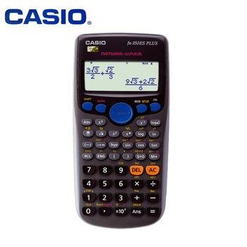 كاسيو FX 350ES بلس متعددة الوظائف العلمية وظيفة الكمبيوتر لا نص امتحان الطالب حاسبة الهندسة إحصاءات المالية-في الآلات الحاسبة من الكمبيوتر والمكتب على