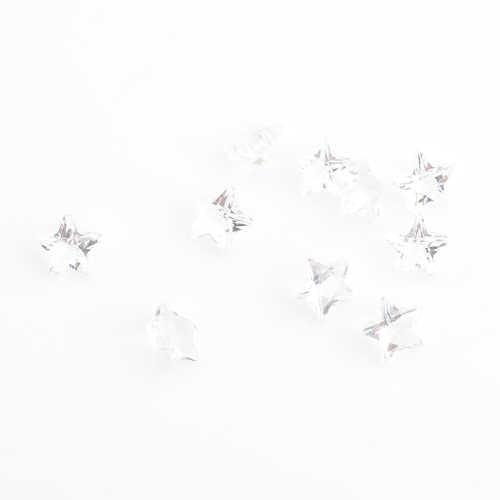 5ミリメートルホワイトスター誕生日石フローティングチャーム、フィット浮動チャームFS1021