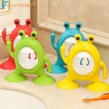 Joyathome Animal Cartoon Hanging Wall Toothbrush Holder Suction Toothpaste and Bathroom Gadgets