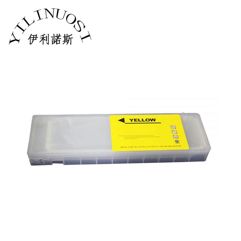 Pro 9908 Refilling Cartridge  printer parts pro 7800 9800 refilling cartridge 8pcs set with 4 funnels