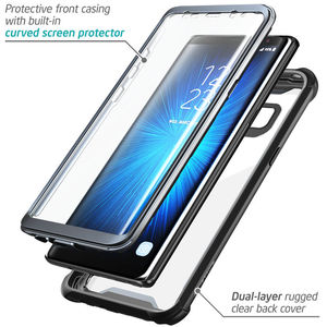 Image 2 - For Samsung Galaxy Note 8 Case Original i Blason Ares Series Full Body Rugged Clear Bumper Case with Built in Screen Protector