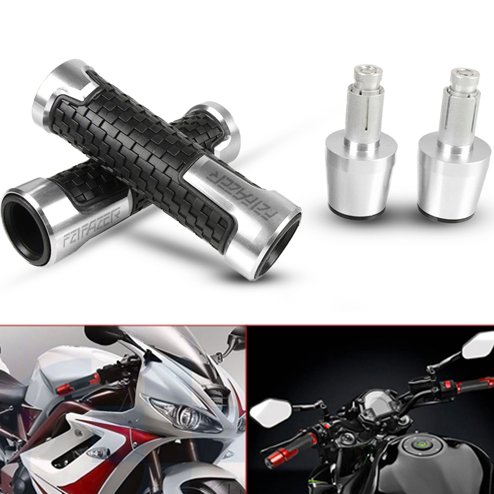 For YAMAHA FZ1 FAZER FZ1FAZER 2001-2005 2002 2003 2004 Motorcycle Moto CNC Aluminum Handlebar Grip Hand Grip And Bar End Weights
