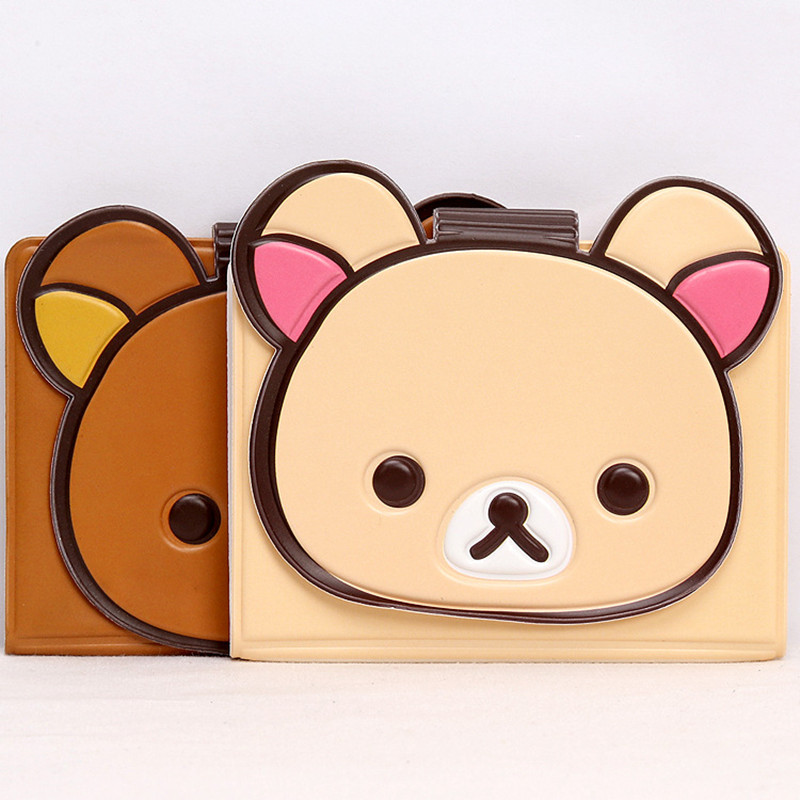 Card & Id Holders Beautiful Alieme Travel Card Passport Holder Case Top Quality Fashion Passport Cover Holder Cute Cartoon Rilakkuma Pvc Id Holders 14*9.6cm Luggage & Bags