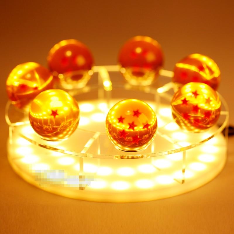Rare Dragon Ball Z Son Goku Genki Spirit Bomb Cloud Figure LED Night Lamp Gift