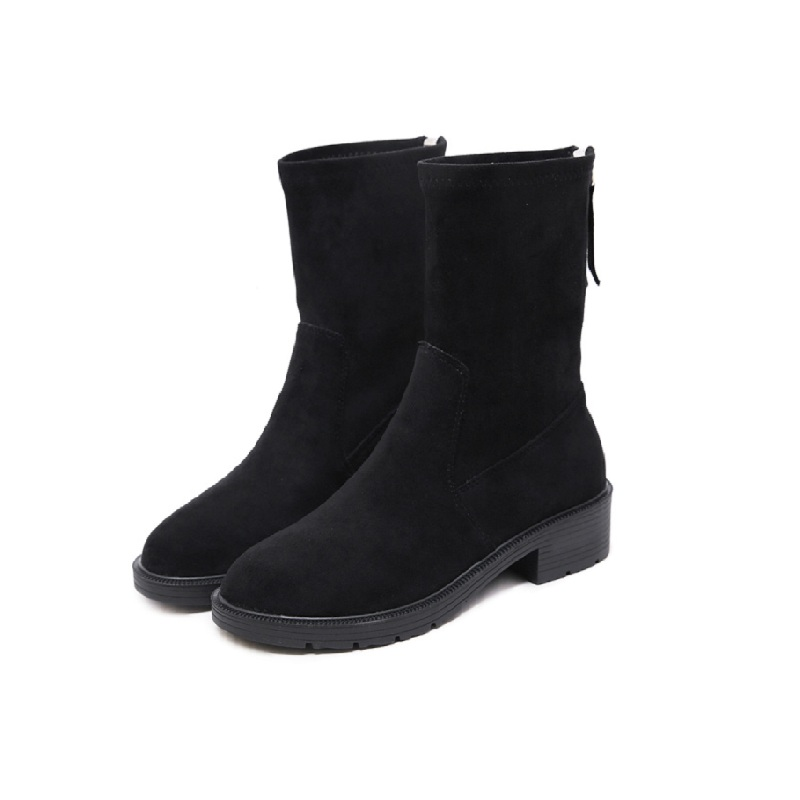 2018 new spring and autumn Martin boots female British wind student short tube wild female boots black ljj 01172018 new spring and autumn Martin boots female British wind student short tube wild female boots black ljj 0117