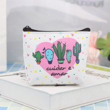 Cute Cartoon  Cactus Kids Children Coin Purses Women Mini Change Purse Girl Coin Wallet Money Pouch Key Holder Bag Porte Monnaie цена в Москве и Питере