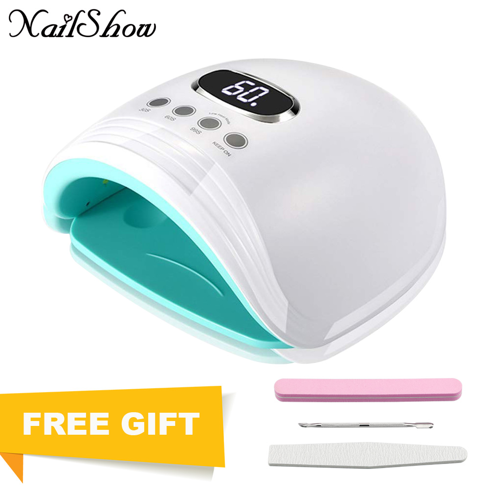 60 Вт УФ светодио дный Светодиодная лампа для ногтей 30 светодио дный LED s Smart Nail Drye Phototherapy маникюрные инструменты отверждения гель для ногтей и...