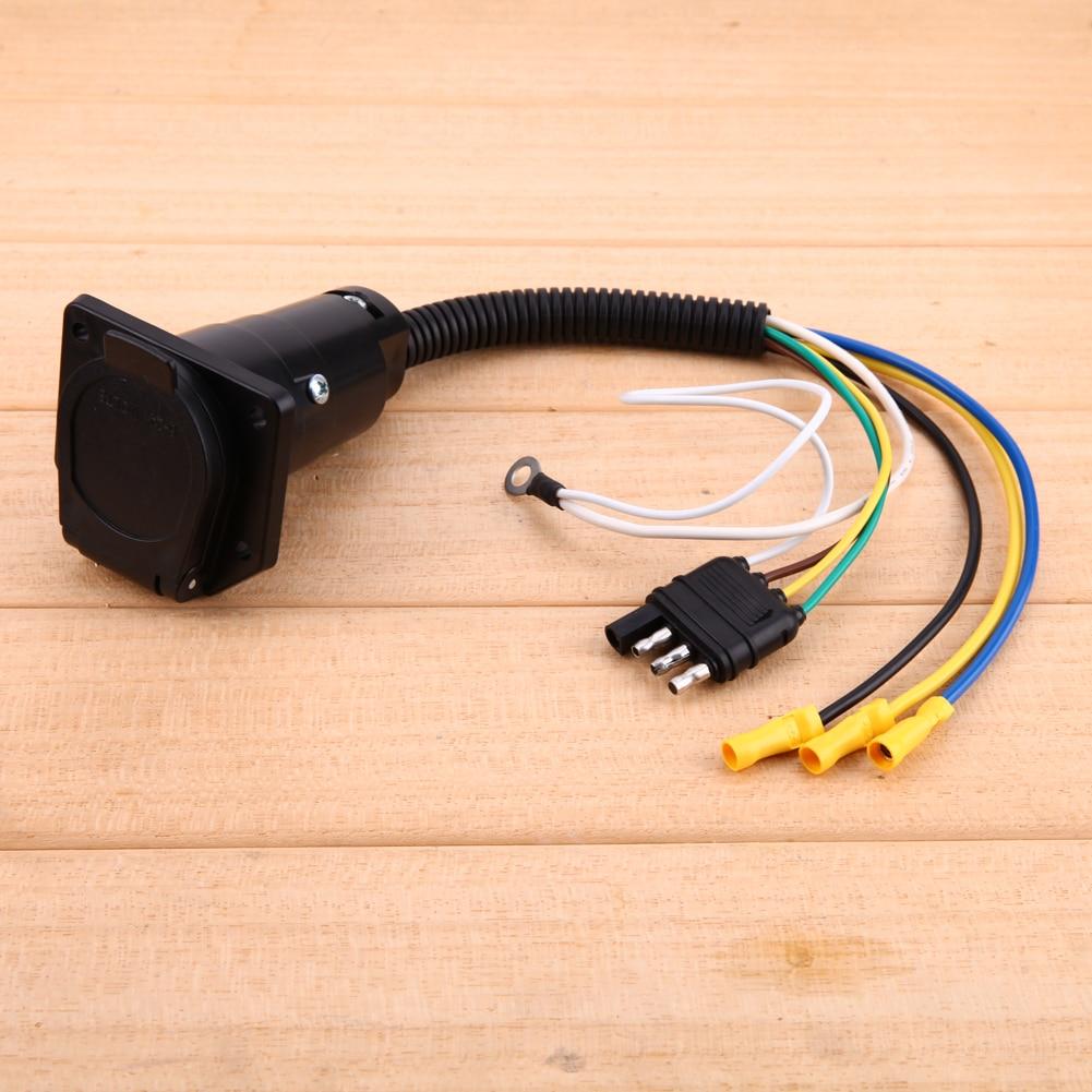 VODOOL stecker 4 kont Auto Elektrische Trailer Flachen Elektrischen ...