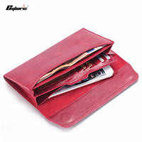 CYBORIS for S7 edge Multifunctional lady women Genuine Leather Wallet Pouch Handbag Case For Samsung Galaxy S6 S6Edge S7 A3 A5
