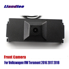 Liandlee Car Front View Camera Logo Embedded For Volkswagen VW Teramont 2016 2017 2018 ( Not Reverse Rear Parking )