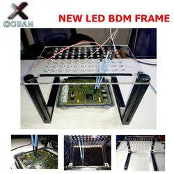 2020 rama LED BDM zapis i odczyt dla KESS KTAG/k-tag FG-TECH /Fgtech KTM100 BDM100 EDC17 ECU Chip stroik
