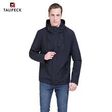 2019 Men Trench Coat Autumn Jacket Windbreaker Casual Long Parka Hiking Mens Overcoat Outwear European Size