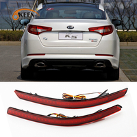 Parking Warning Light Tail Light LED Waterproof Red Rear Bumper Reflector Lamp 0 3A DC12V Tail