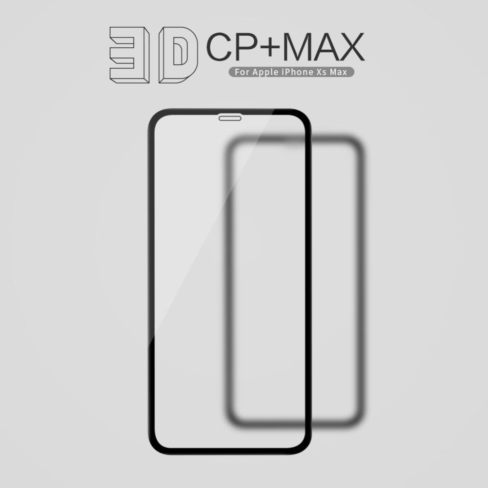 10 sztuk/partia hurtownie NILLKIN niesamowite 3D CP + MAX pełne pokrycie nanometr Anti Explosion 9 H szkło hartowane film dla iPhone XS Max w Etui do ekranu telefonu od Telefony komórkowe i telekomunikacja na AliExpress - 11.11_Double 11Singles' Day 1