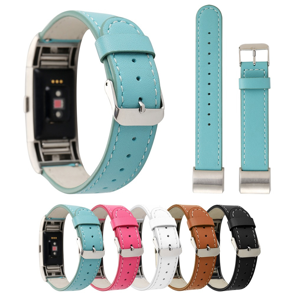 Wholesale Leather Strap Replacement Watch Band For For Fitbit Charge 2 Fashion Smart Wristbands For Fitbit Charge 2 N24