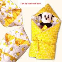 Baby Stroller Sleeping Bags Bear Cotton The Envelope for Newborn Girls Boys Winter Sleeping Bag Baby Stroller Sleeping Bags
