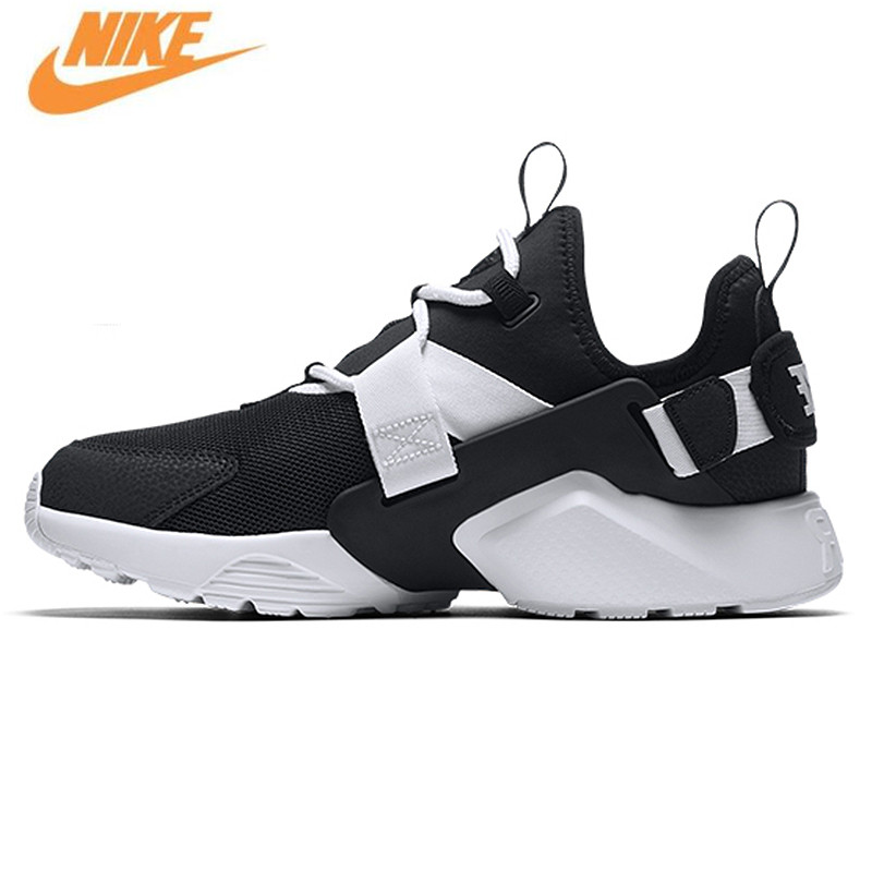 Nike AIR HUARACHE CITY LOW Women's Running Shoes,Oeiginal Wmen Sport Sneakers Shoes,AH6804 meri huarache shoes