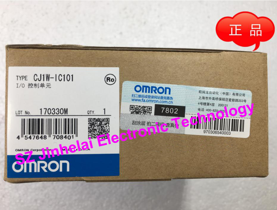 100% New and original OMRON CJ1W-IC101 I/O CONTROLLER UNIT