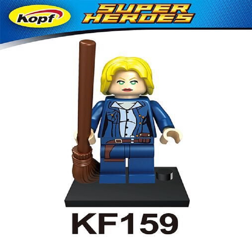 Super Heroes Movie River Song Christopher Eccleston Dr.Who Figures Building Blocks Children Gift Toys KIDS KF159 image