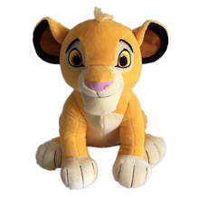 New The Lion King Plush Toys Childrens Simba Character Action Model Filled Cotton Best Birthday Gift for Childre