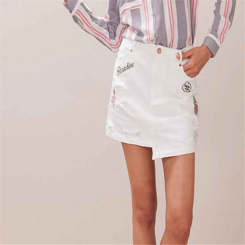 Online Get Cheap White Asymmetrical Mini Skirt -Aliexpress.com ...