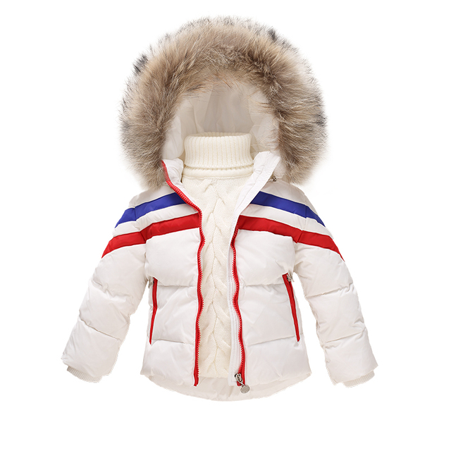 35a71fec42 OLEKID 1-6 Years Children Winter Down Coat Brand Hooded Down Jacket For  Girls Warm