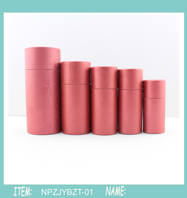Famous 50 stücke 20 ml Kraft papier Rohr Öl flasche verpackung Karton  WZ37