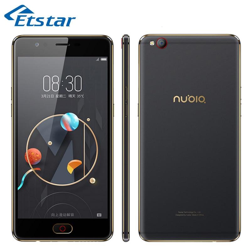 Original ZTE Nubia M2 Lite Smartphone 5.5'' MTK MT6750 Quad Core 3GB RAM 64GB ROM 16.0MP Camera Dual SIM Card FDD-LTE B20