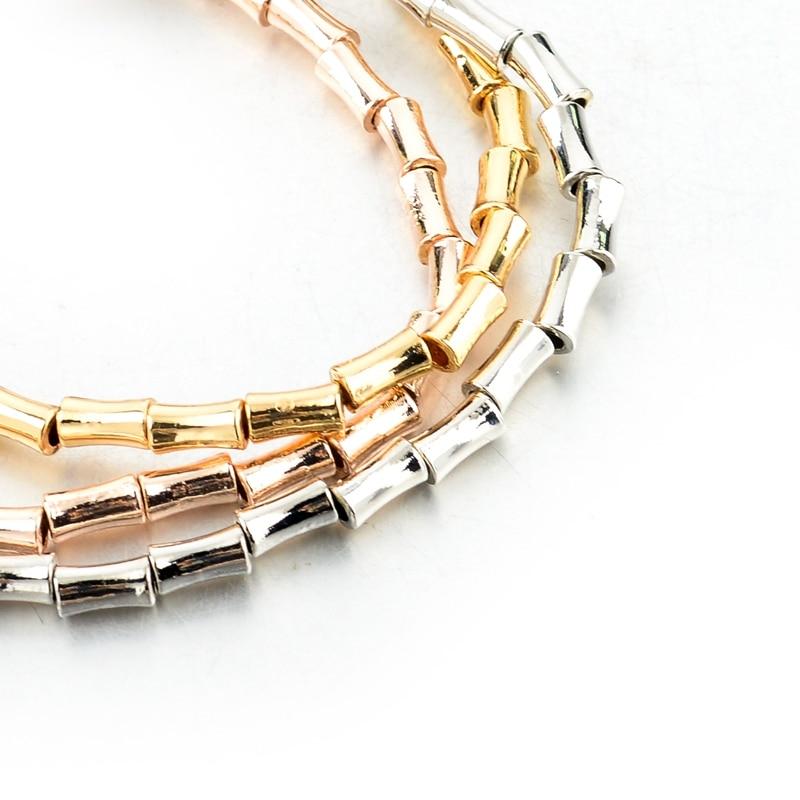 LongWay Retro Girls Boy Pendant Gold Gold Ապարանջաններ - Նորաձև զարդեր - Լուսանկար 5