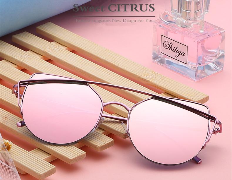 HTB10oLBem7PL1JjSZFHq6AciXXaE - Sweet CITRUS Cat eye Sunglasses Women Luxury Brand Designer Metal Original Sun Glasses For Female vintage Oculos De Sol Feminino