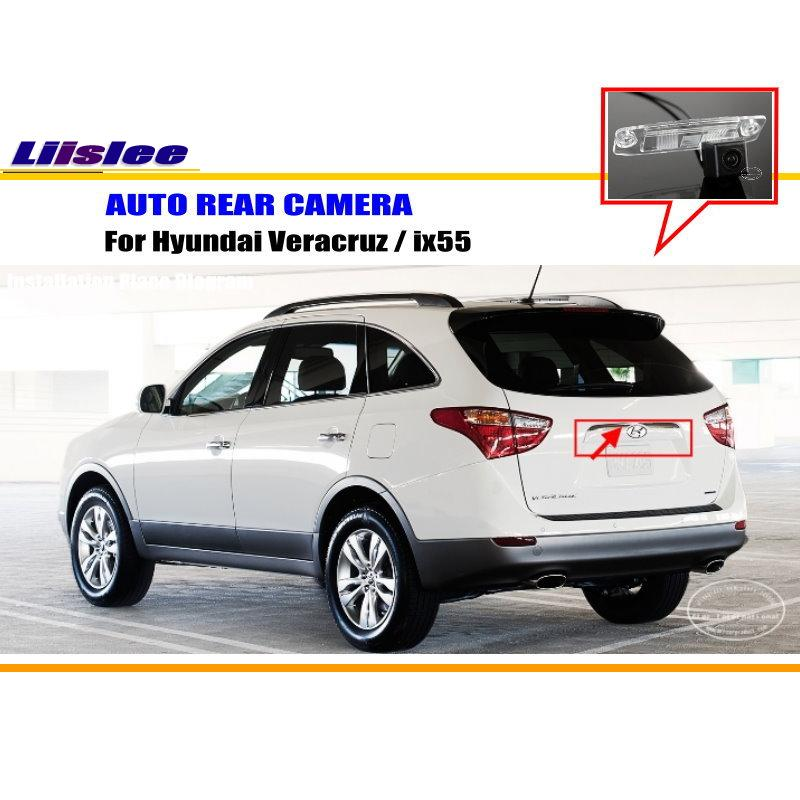 For Hyundai Veracruz / Ix55 - Rear View Camera / Back Up Parking Camera / HD CCD RCA NTST PAL / License Plate Light CAM