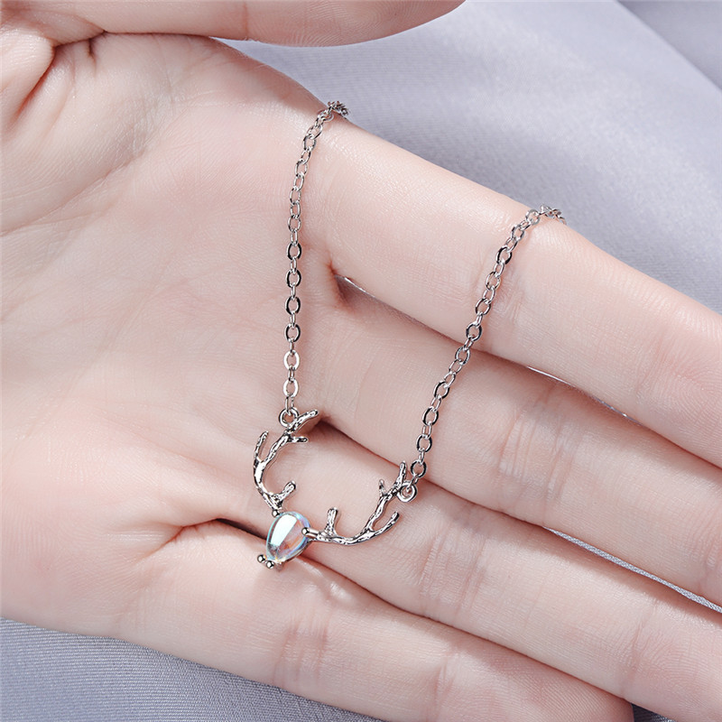 TJP Top Quality 925 Sterling Silver Bracelets For Women Jewelry Charm Crystal Animal Elk Bracelets Girl Lady Party Accessories in Charm Bracelets from Jewelry Accessories
