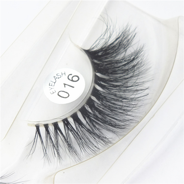 Premium Mink Lashes Handmade False Eyelashes Extensions For Makeup 1Pcs/Lot Free Shipping M-016