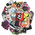 50 car styling fresco divertido pegatina redonda bomba graffiti Doodle impermeable etiqueta decal monopatín juguete pegatina hellaflush