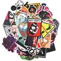 50 car styling funny cool sticker bomb waterproof graffiti Doodle sticker skateboard decal toy sticker hellaflush