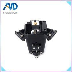 Część drukarki 3D Kossel Delta Effector pełny zestaw/zestaw 1.75/3mm M3/M4 V6 hotend typ automatyczna niwelator do drukarki Kossel Delta 3D